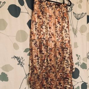 Haute Hippie Silk Maxi Skirt